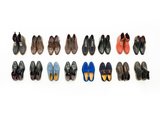 Male Shoes Collection Photographic Print by  shotsstudio