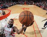 Cleveland Cavaliers v Houston Rockets Photographie par Bill Baptist
