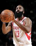 Detroit Pistons v Houston Rockets Photographie par Bill Baptist