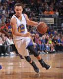 Golden State Warriors v Phoenix Suns Foto von Barry Gossage