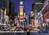 Times Square, NYC 1000 Piece Puzzle Quebra-cabeça