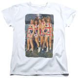 Womens: Def Leppard - Flag Photo Shirts