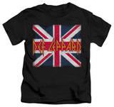 Juvenile: Def Leppard - Union Jack T-shirts