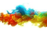 Colorful Ink in Water Fotografisk trykk av  SSilver