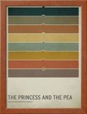 The Princess and the Pea Pôsters por Christian Jackson