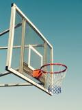 Vintage Basketball Goal Reproduction photographique par  designelements