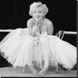 Marilyn Monroe (Ballerina) Stretched Canvas Print