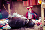 Traditional Village in Peru, South America. Photographic Print by Mariusz Prusaczyk