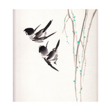 Chinese Painting Bird Poster by  jim80