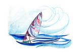 Under Sail Prints by  okalinichenko