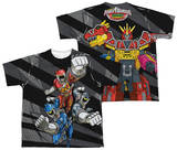 Youth: Power Rangers - Let'S Bolt (Front - Back Print) T-shirts