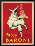 Pates Baroni, c.1921 Framed Giclee Print by Leonetto Cappiello