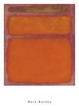Orange, Red, Yellow, 1961 Arte por Mark Rothko