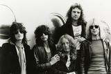 Aerosmith - Eurofest 1977 B&W Plakat af  Epic Rights
