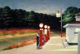 ガスステーション, 1940 高品質プリント : エドワード・ホッパー