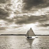 Friendship Sloop Giclee Print by Michael Kahn
