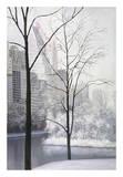 Central Park Poster por Diane Romanello