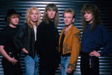 Def Leppard - Hysteria Tour Photo Shoot 1987 Print by  Epic Rights