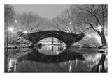 Bridge in Winter Pôsters