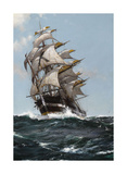 The Rising Moon Reproduction giclée Premium par Montague Dawson