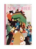 The New Yorker Cover - December 12, 1931 Giclee Print by Theodore G. Haupt