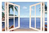 Day Dreams Window Affiche par Diane Romanello