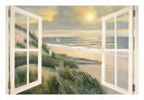 Morning Meditation with Windows Posters av Diane Romanello