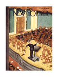 The New Yorker Cover - October 6, 1934 Reproduction giclée Premium par Charles Alston