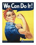 Rosie the Riveter Posters av J. Howard Miller