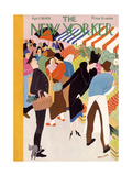 The New Yorker Cover - April 30, 1932 Premium Giclee Print by Theodore G. Haupt