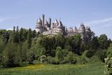 Château de Pierrefonds, vue d'ensemble depuis le sud-est Reproduction photographique par Philippe Berthé