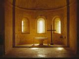 Abbaye du Thoronet, église abbatiale, chœur Reproduction photographique par Philippe Berthé