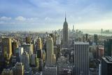 Manhattan Skyline with the Empire State Building, New York City Fotografisk trykk av Fraser Hall