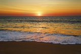 Sunset Impression at Ocean Photographic Print by Frank Krahmer
