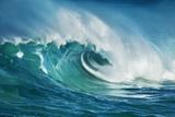 Wave Impression Premium-Fotodruck von Frank Krahmer