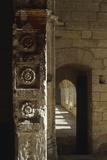 Chartreuse du Val-de-Bénédiction, église conventuelle, intrados du jubé Reproduction photographique par Philippe Berthé