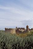 Fort de Salses, front sud Reproduction photographique par Philippe Berthé