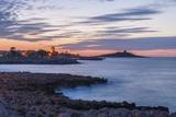 Sunset at Isola Delle Femmine Impressão fotográfica por Guido Cozzi