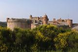Fort de Salses, contre-garde nord-ouest et bastillon nord-ouest Reproduction photographique par Philippe Berthé