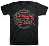 Sleeping With Sirens - Red Chain T-Shirt