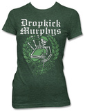 Women's: Dropkick Murphys - Skeleton Piper Tee T-Shirt