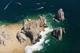 Lands End, Cabo San Lucas, Baja California Sur, Mexico Reproduction photographique par Reinhard Dirscherl