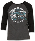 Raglan: Sleeping With Sirens - Chain Logo Raglans