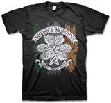 Dropkick Murphys - Knotwork Flag Tee Camisetas