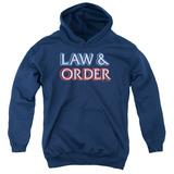 Youth Hoodie: Law & Order - Logo Pullover Hoodie