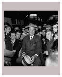 Bob Hope with Fans Art