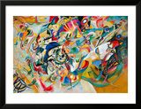 Composition VII, 1913 Framed Giclee Print by Wassily Kandinsky