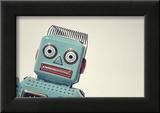 Vintage Tin Toy Robot II Prints