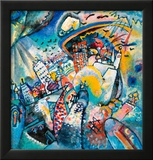 Red Square in Moscow, 1916 Framed Giclee Print by Wassily Kandinsky