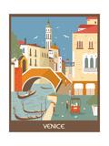 Venice. Posters por  Ladoga